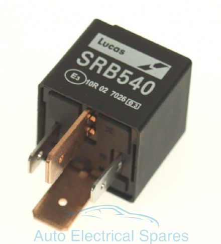 lucas SRB540 28RA relay 12v 70A with resistor